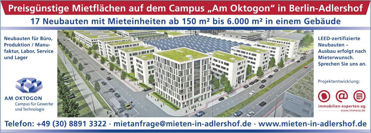 AM OKTOGON Campus für Gewerbe und Technologie