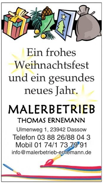 Malerbetrieb Thomas Ernemann