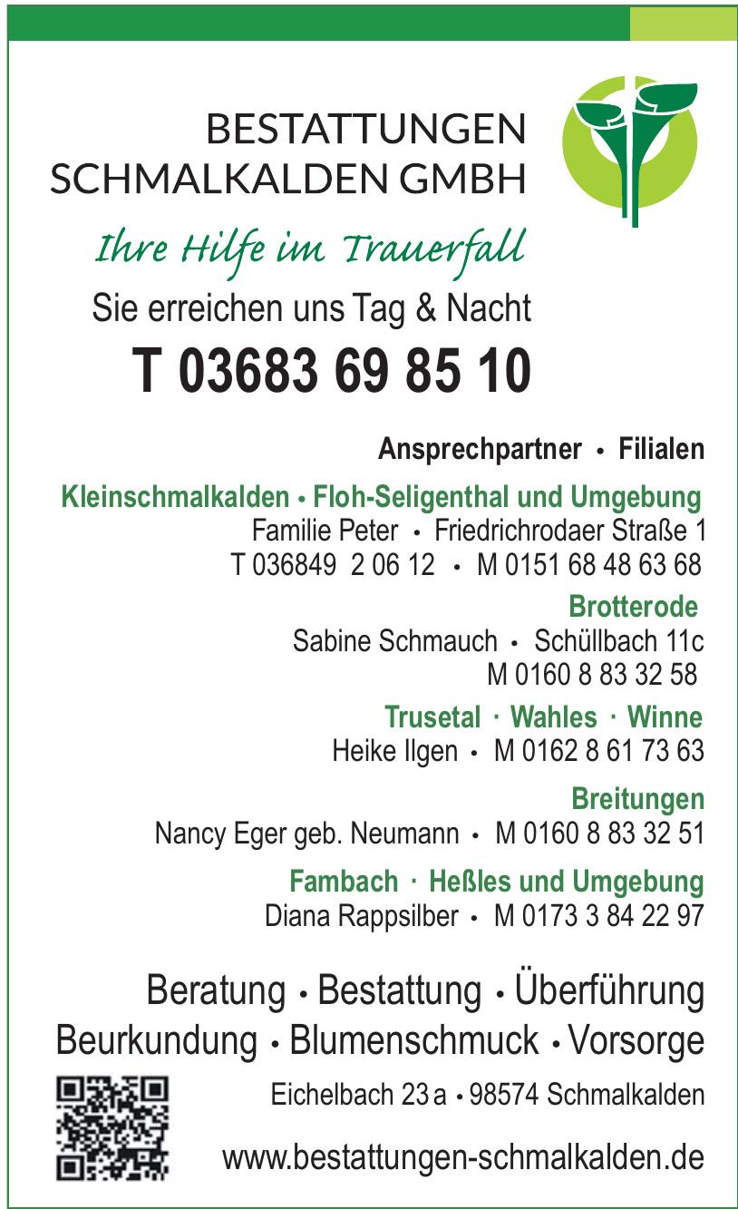 Bestattungen Schmalkalden GmbH