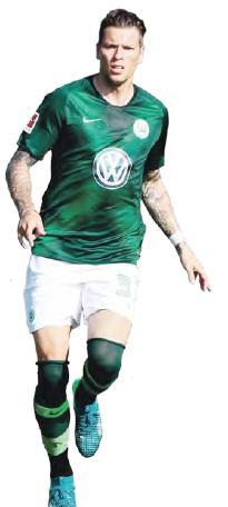 Aus Stuttgart gekommen: Daniel Ginczek soll die Wolfsburger im Sturm verstärken.
