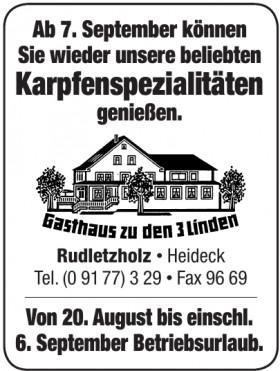 Gasthaus zu den 3 Linden