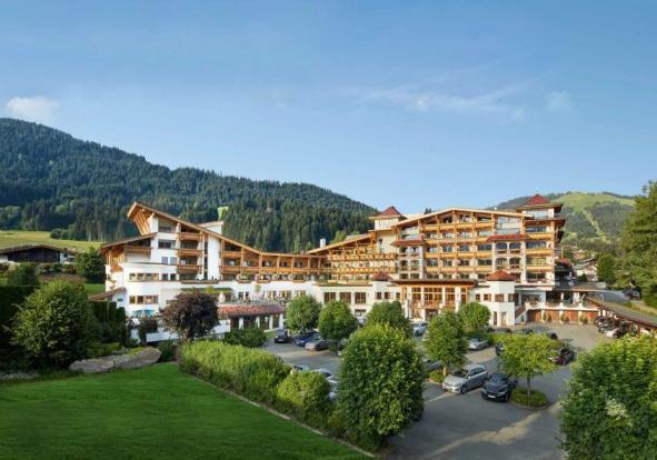 """Im """"Sporthotel Ellmau"""" stehen Natur, Sport und Entspannung in vollendetem Einklang"""