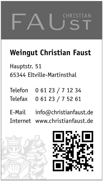 Weingut Christian Faust