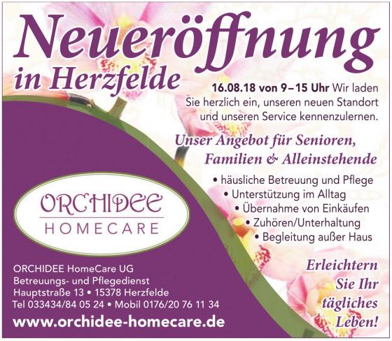 ORCHIDEE HomeCare UG