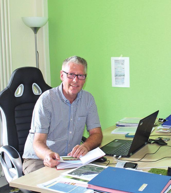 Der neue BadeLand-Chef hat viel vor in Sachen Sanierung & Modernisierung.