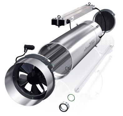 sterilAir entwickelt UV-Entkeimungsgeräte und passt diese ständig gemäß neuester Forschungsergebnisse an. Im Zuge dessen wurde nun der Umluftentkeimer UVR umfassend überarbeitet und kommt als UVR-4K auf den Markt. © sterilAir AG