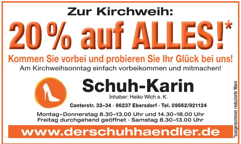 Schuh-Karin