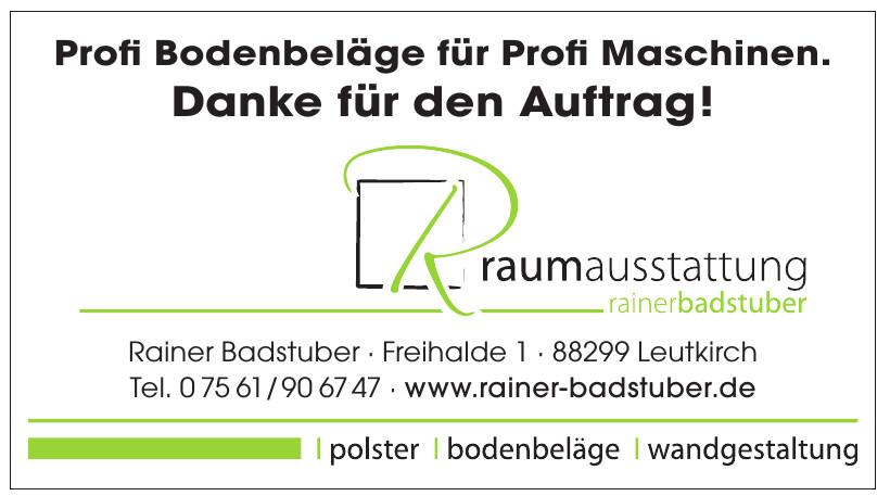 Rainer Badstuber
