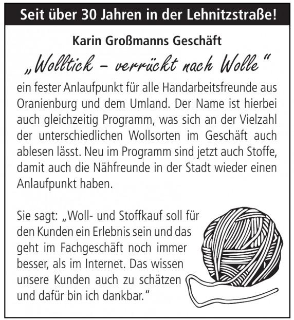 Karin Großmanns Geschäft