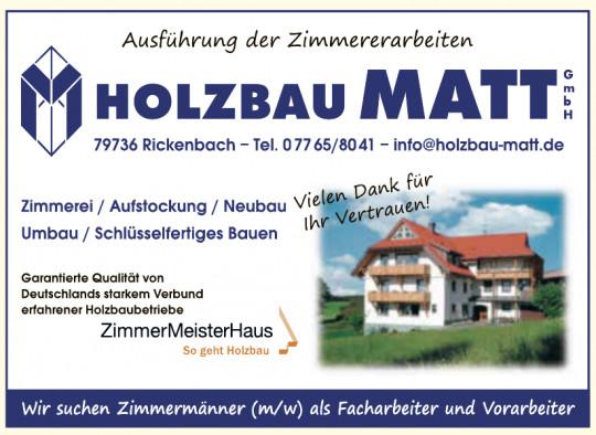 Holzbau Matt GmbH