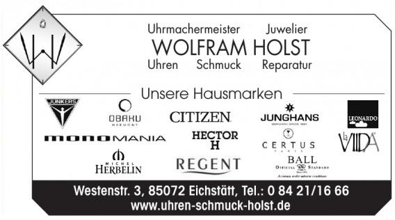 Wolfram Holst Uhrmachermeister, Juwelier