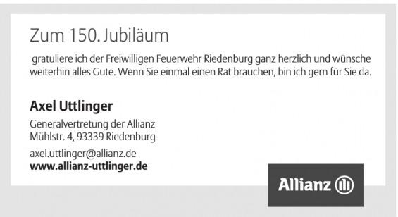 Axel Uttlinger - Allianz