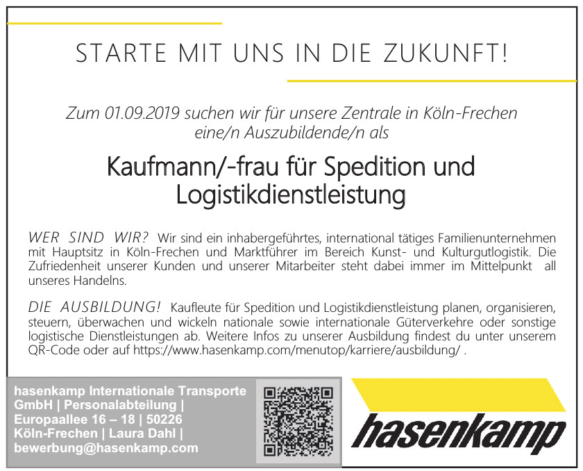 hasenkamp Internationale Transporte GmbH