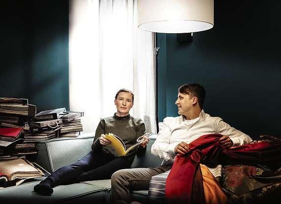 Eike und Nils Lenschau führen das Unternehmen seit zehn Jahren. FOTO: HFR