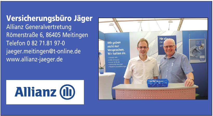 Versicherungsbüro Jäger Allianz Generalvertretung