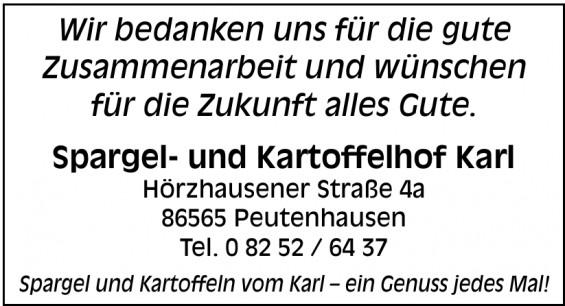 Spargel- und Kartoffelhof Karl