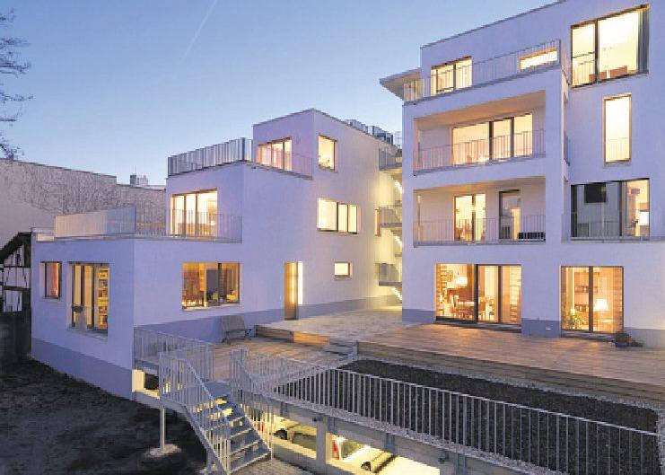 Mehrgeschossige Gebäude in Holzrahmenbauweise werden für Investoren immer attraktiver Foto: Kaden Klingebeil Architekten
