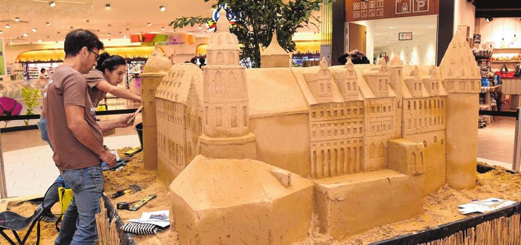 Ein Schloss aus Sand