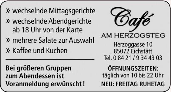 Café Am Herzogsteg