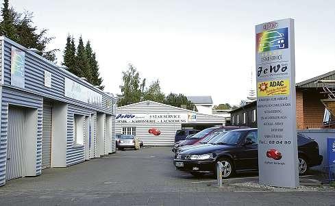 Die Jewo GmbH bietet einen Inspektions-Service mit Mobilitätsgarantie. FOTO: HFR