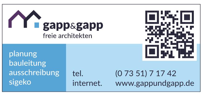 gapp&gapp freie architekten