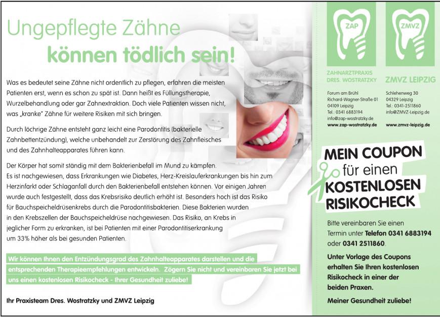 Zahnarztpraxis Dres. Wostratzky