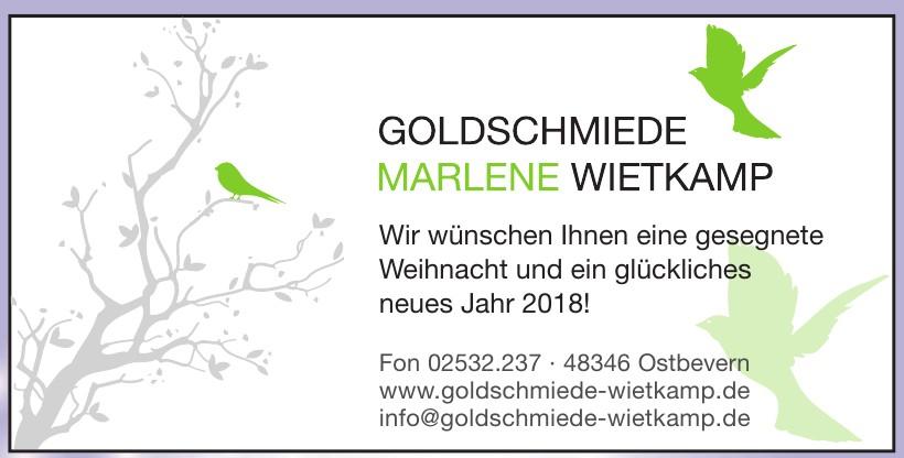 Goldschmiede Marlene Wietkamp