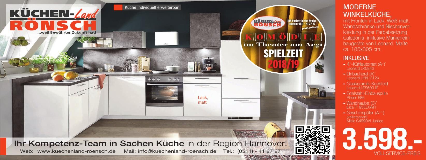 """Küchenland Rönsch"""" - Hemmingen & Wennigsen: Küchen, Geräte & Beratung"""
