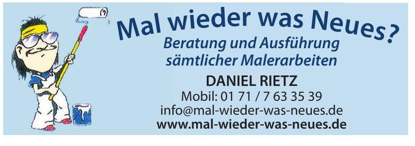 Maler-Betrieb Daniel Rietz