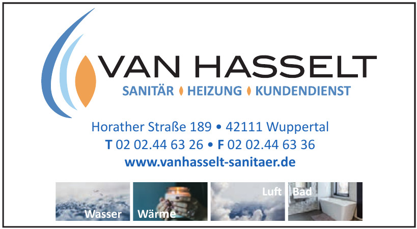 Van Hasselt