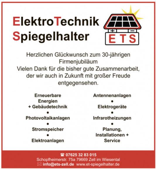 ElektroTechnik Spiegelhalter