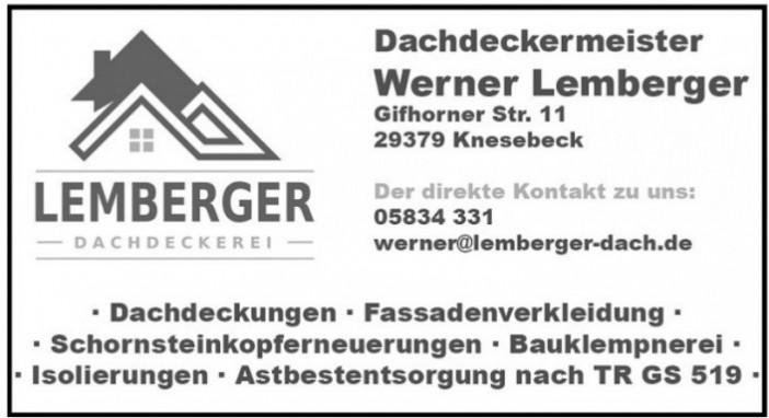 Werner Lemberger Dachdeckermeister