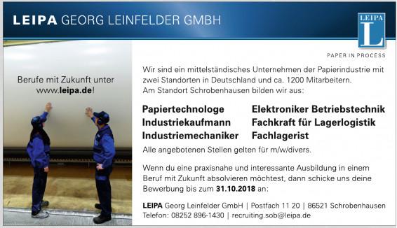 Leipa Georg Leinfelder GmbH