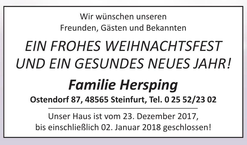 Familie Hersping