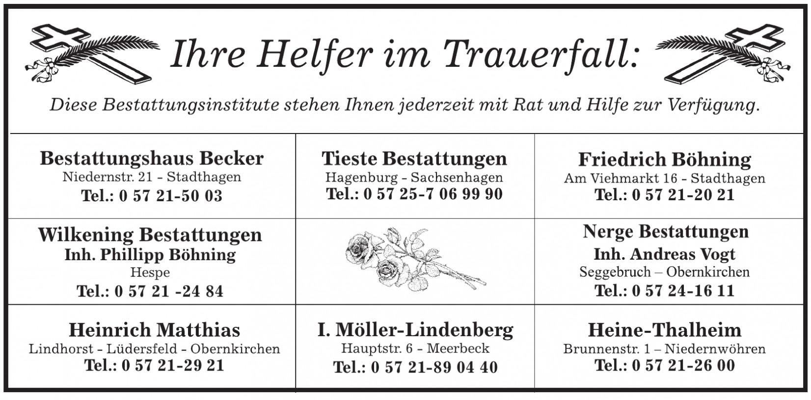 Bestattungshaus Becker
