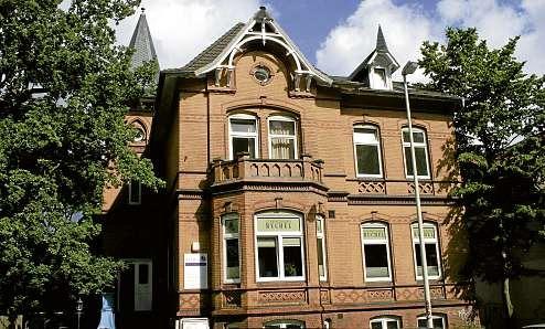 Der Firmensitz von Contactlinsen Ruchel in der Kirchhofallee 66 in Kiel. FOTO: HFR