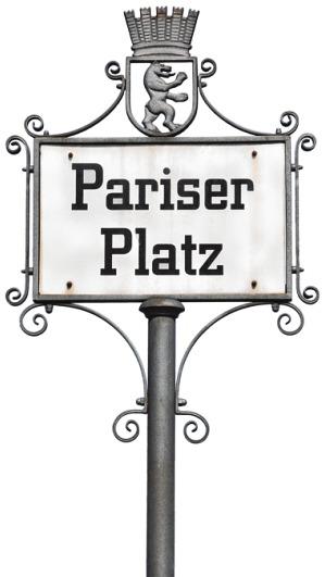 Das Adlon residiert am historischen Pariser Platz PA/FABIAN VON POSER