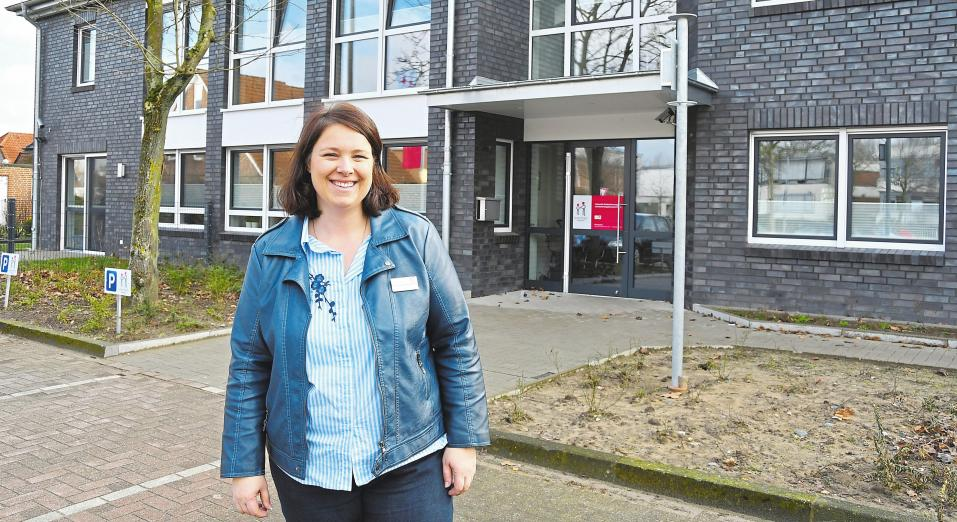 Tina Deipenbrock verfügt über mehrjährige Leitungserfahrung im Kinderland-Verbund und leitet das Kinderland an der Teichstraße. Fotos: Pia Weinekötter