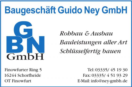 Baugeschäft Guido Ney GmbH