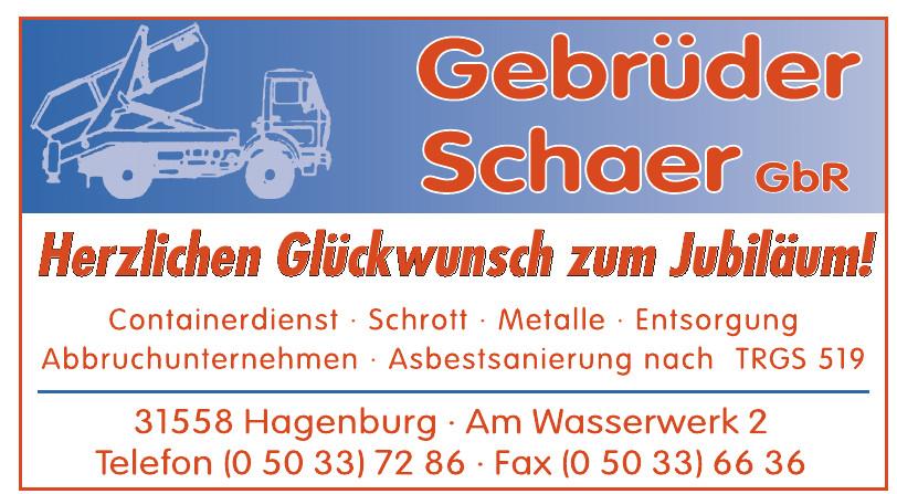 Gebrüder Schaer GbR