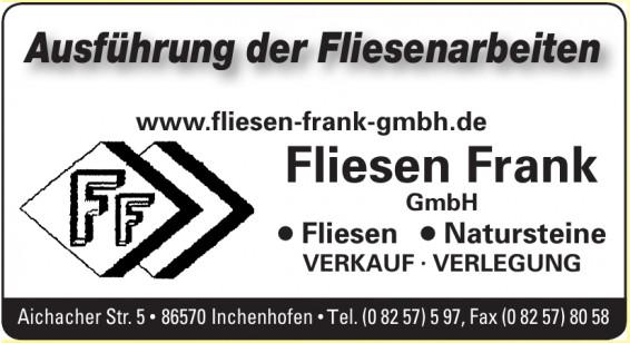 Fliesen Frank GmbH