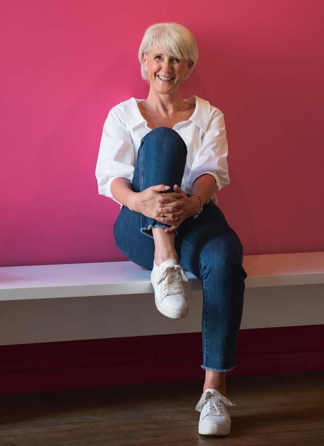 """Dialoghaus-Geschäftsführerin Elke Theede lebt mit ihrem Mann in Volksdorf, liebt aber den Hafen und die Breite Straße, in der sie ihre erste Wohnung hatte: """"Laut, schmutzig, sympathisch – wie meine Heimat: das Ruhrgebiet"""""""