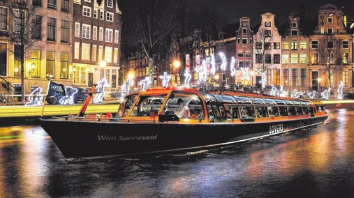 Amsterdam: Zauberhafte Grachtenwelt im Advent.