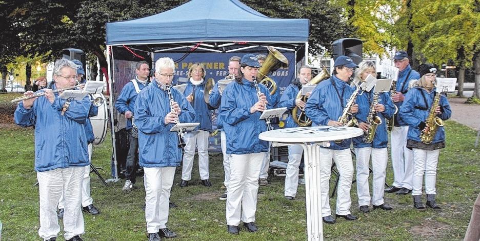 Das Blasorchester Bad Doberan ist mit von der Partie.