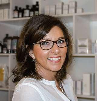 Anja Petersen, Inhaberin von Kosmetik am Park. FOTO: HFR
