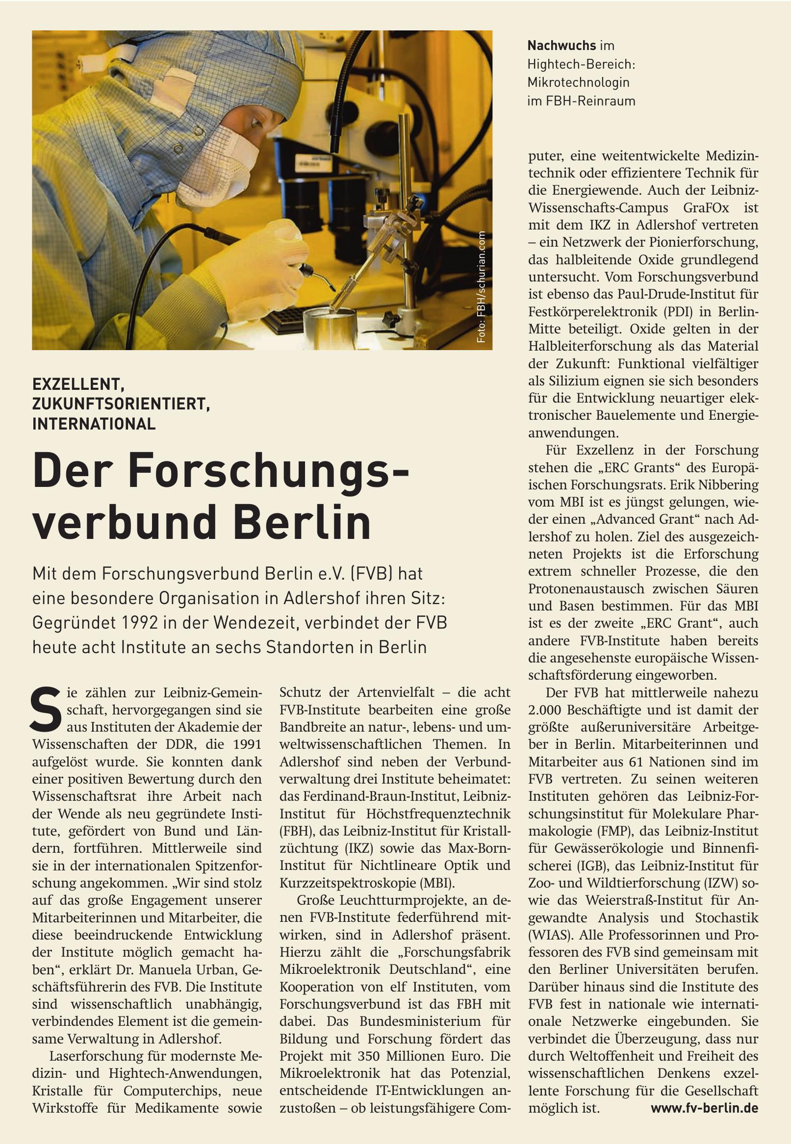 Forschungsverbund Berlin