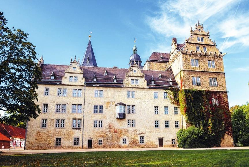 Das Renaissance-Schloss – ein Wolfsburger Wahrzeichen. © Andreas Glas