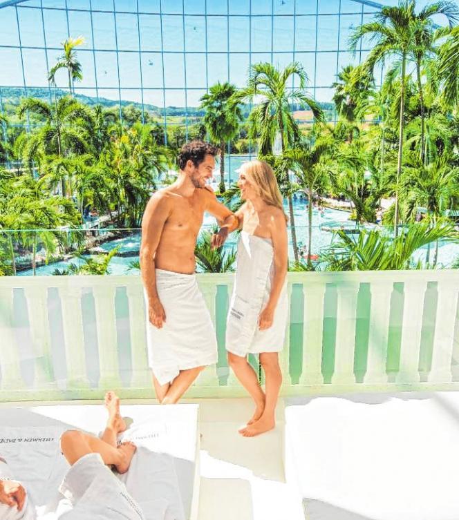 Die Besucher erwartet an 365 Tagen im Jahr ausgiebiges Wellness und Saunavergnügen. Bild: Thermen & Badewelt Sinsheim