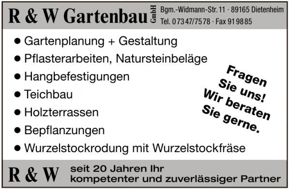 R und W Gartenbau GmbH