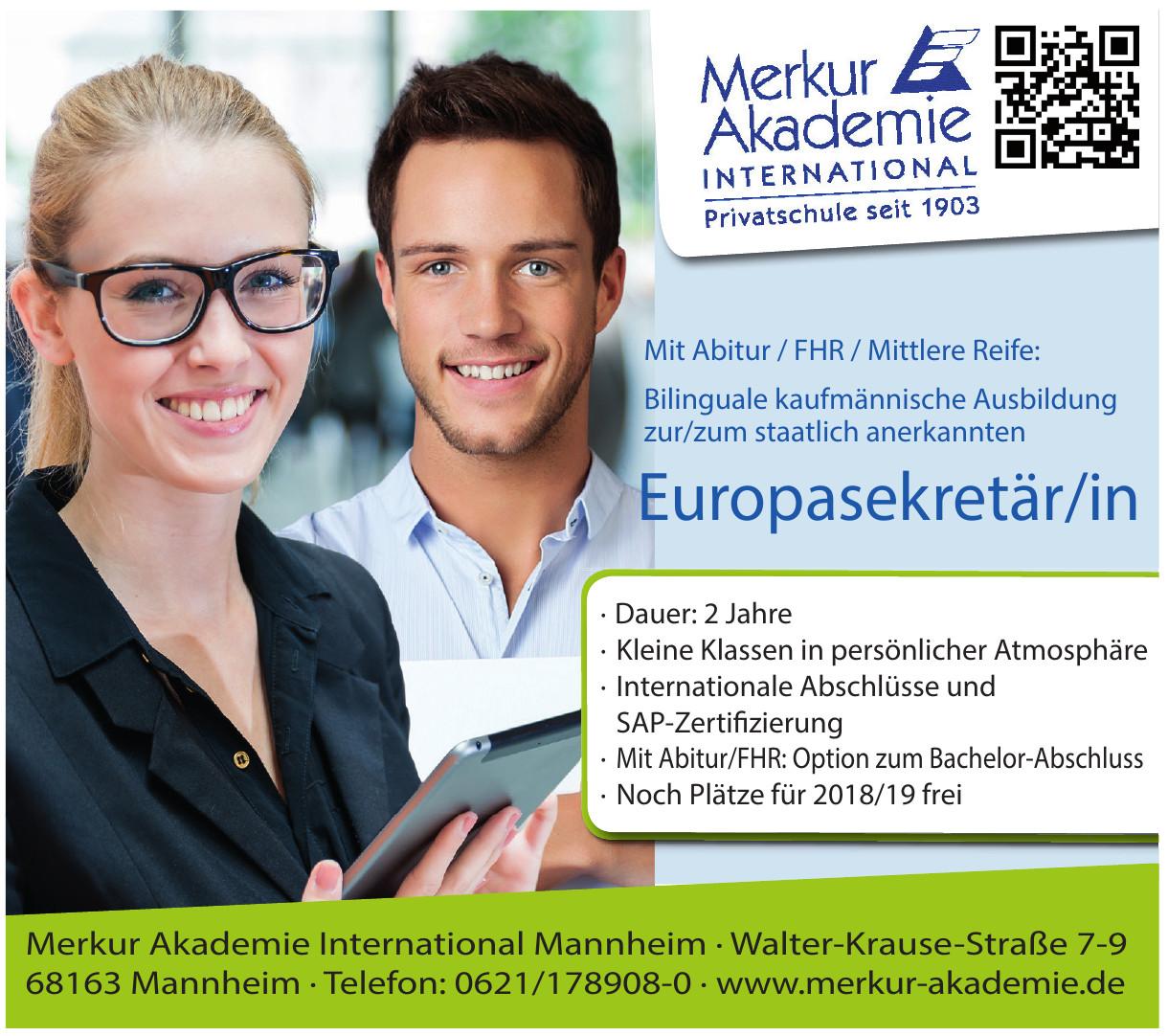 Merkur Akademie International Mannheim
